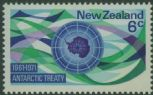 NZ SG955 6c 10th Anniversary of Antarctic Treaty